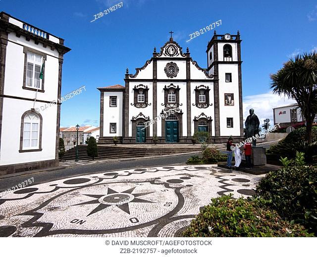 Church, Nordeste, eastern São Miguel Island, Azores, Portugal