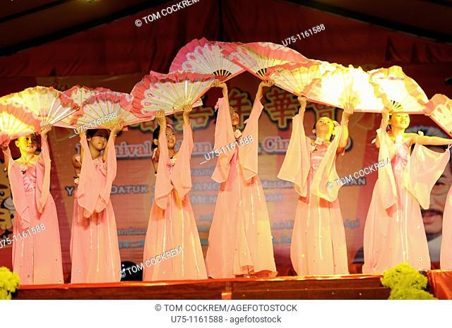 Chinese New Year children's show, Kota Kinabalu, Sabah, Malaysia