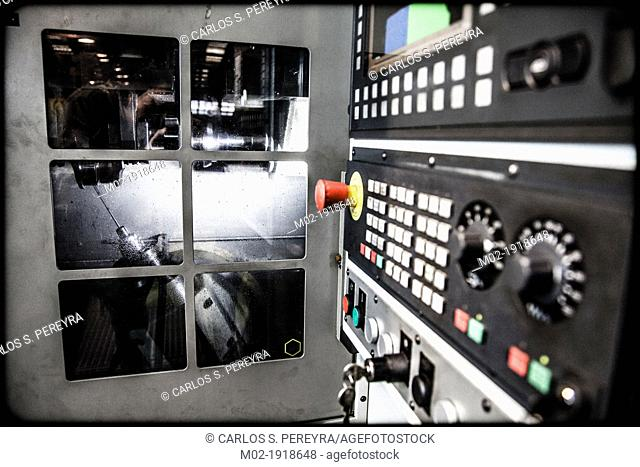 Manufacturing metalworking plant in Spain, Europe