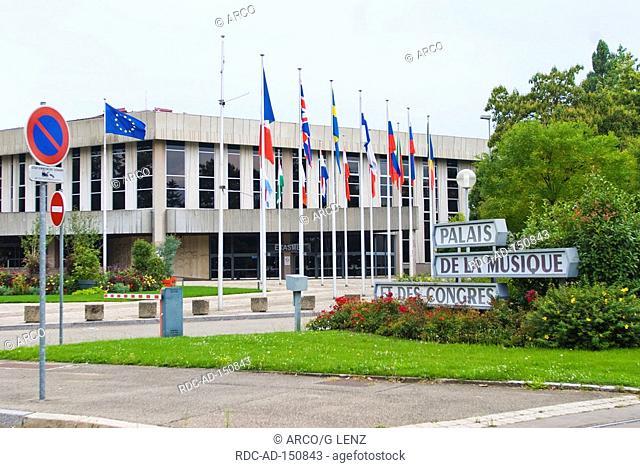 Palais de la musique et des congres Strasbourg Alsace France