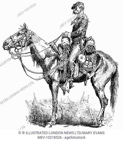 1800s Native American Riding Horses