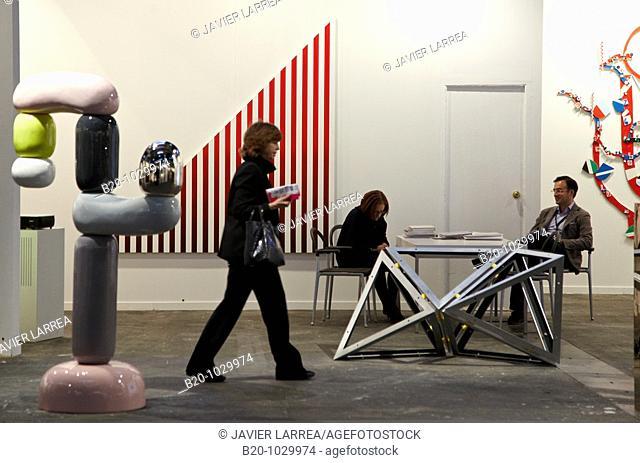 ARCO International Fair of Contemporary Art, IFEMA exhibition center, Madrid, Spain