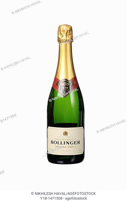 Bollinger 1829 special cuvee Champagne bottle