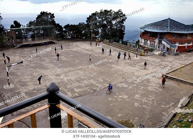 Tibetan Children's Village  Dharamsala, Himachal Pradesh state, India, Asia