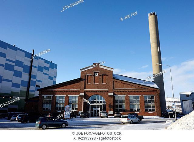 kimex shipyard entrance kirkenes finnmark norway europe