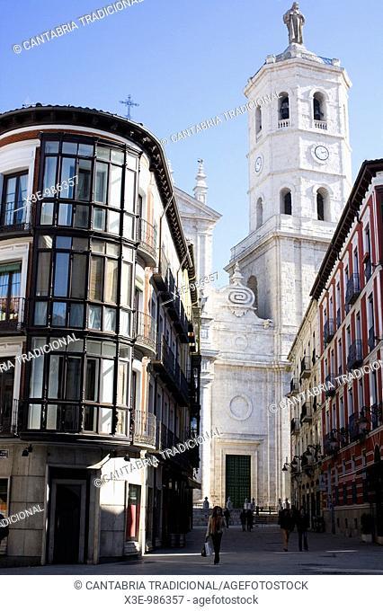 Calles en Valladolid