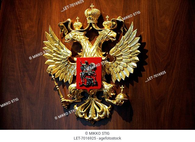 The Russian coat-of-arms
