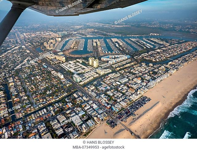 Pacific, Venice Beach, Beach, Sandy Beach, Marina Del Rey, Los Angeles County, California, USA