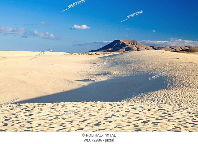 Corralejo dunes, Fuerteventura. Canary Islands, Spain