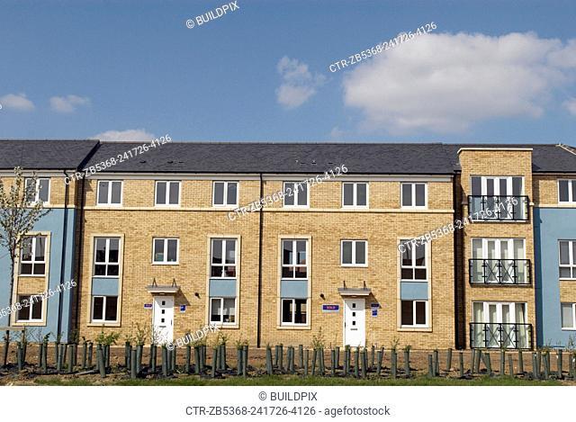 Housing development, Cambridge, UK