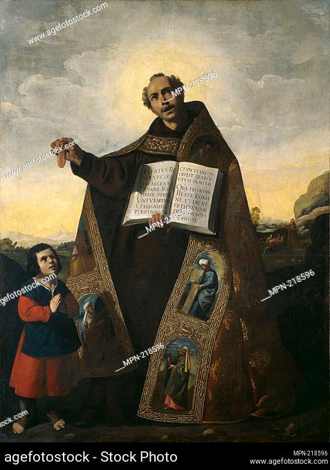 Saint Romanus of Antioch and Saint Barulas - 1638 - Francisco de Zurbarán Spanish, 1598-1664 - Artist: Francisco de Zurbarán, Origin: Spain, Date: 1638