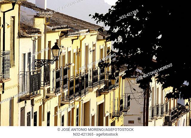 Street, Archidona. Málaga province, Andalusia. Spain