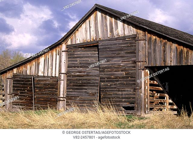Long barn at P Ranch, Malheur National Wildlife Refuge, Oregon