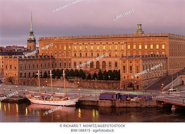 Royal Palace. Gamla Stan. Stockholm. Sweden