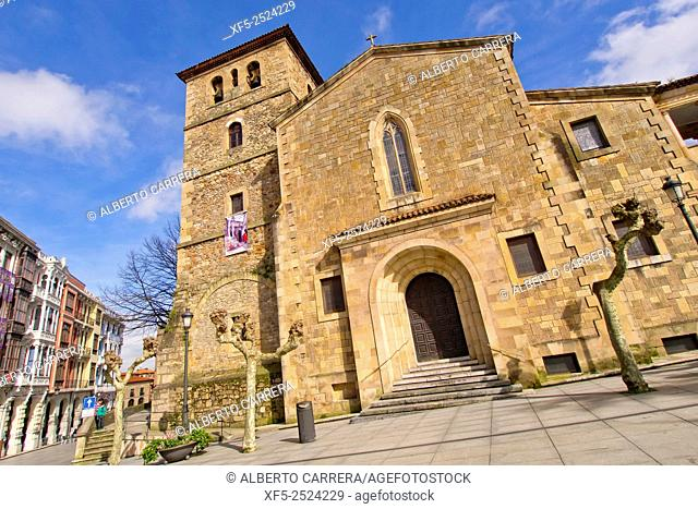 San Nicolás de Bari Church, Avilés, Asturias, Spain, Europe