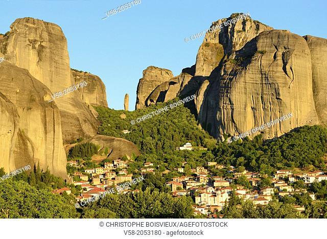 Greece, Thessaly, Meteora, World Heritage Site, Kastraki
