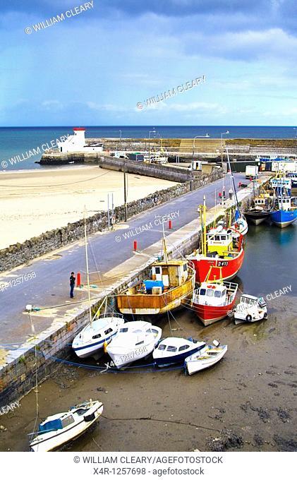Balbriggan Harbour, Co  Dublin, Ireland  Balbriggan is a small fishing port