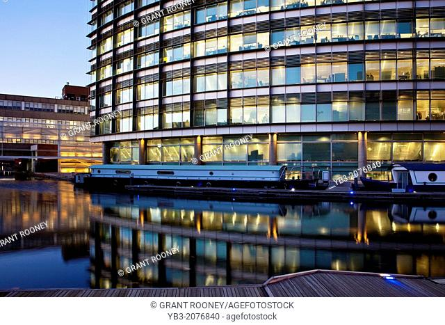 Office Buildings, Paddington Basin Development, London, England