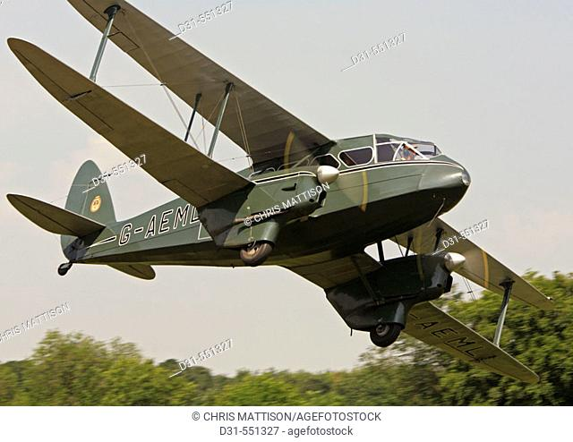 G-AEML. De Havilland Dragon Rapide
