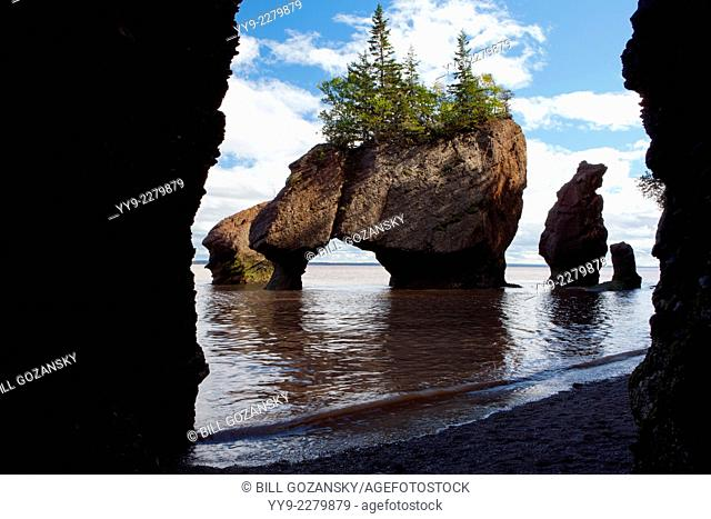 Hopewell Rocks - The Rocks Provincial Park - Hopewell Cape, New Brunswick; Canada