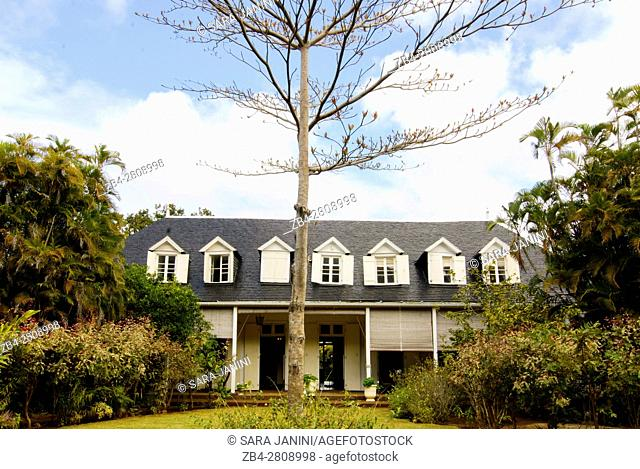 Eureka La Maison Creole, colonial house converted into a museum, Eureka Lane, Montagne Ory, Moka, Mauritius, Indian Ocean, Africa