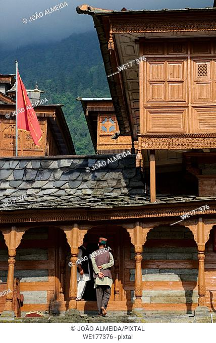 Bhimakali Temple, originally known as Bhimadevi Temple, in Sarahan, Himachal Pradesh