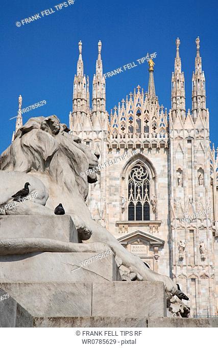 Italy, Lombardy, Milan, the Duomo