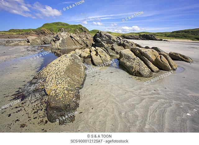 Ardalanish beach, Isle of Mull, Scotland, UK