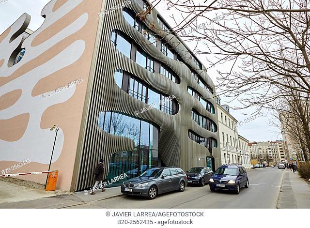Building design, Johannisstraße, Berlin, Germany
