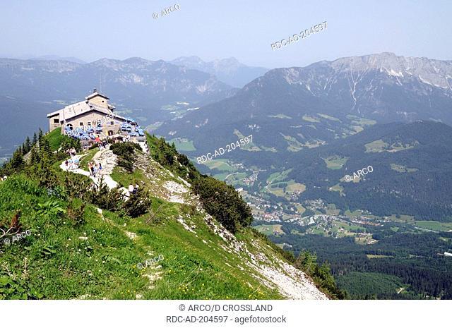 View to 'Eagle's Nest', Berchtesgaden, Bavaria, Germany, Alps, Kehlsteinhaus