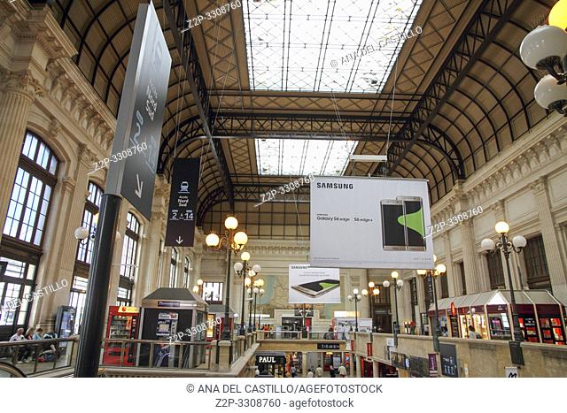 Train station. Gare de Bordeaux St Jean on September 4, 2015 in Bordeaux France