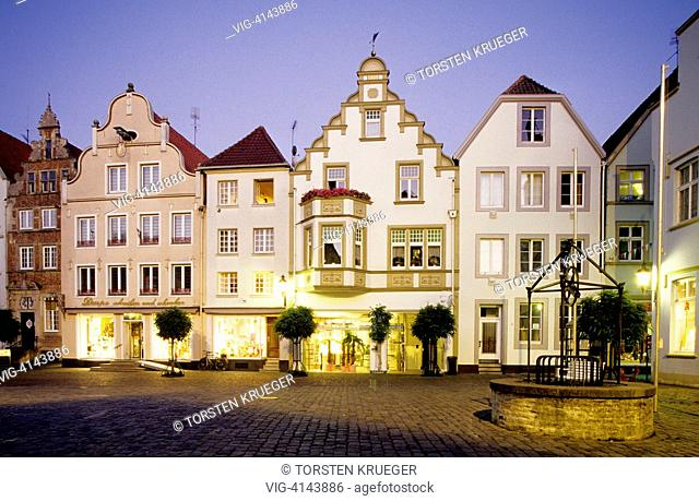Germany, Warendorf : Old Town