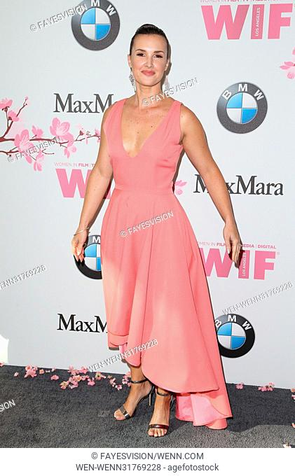 Women In Film 2017 Crystal + Lucy Awards® presented by Max Mara and BMW Featuring: Meredith Riley Stewart Where: Beverly Hills, California