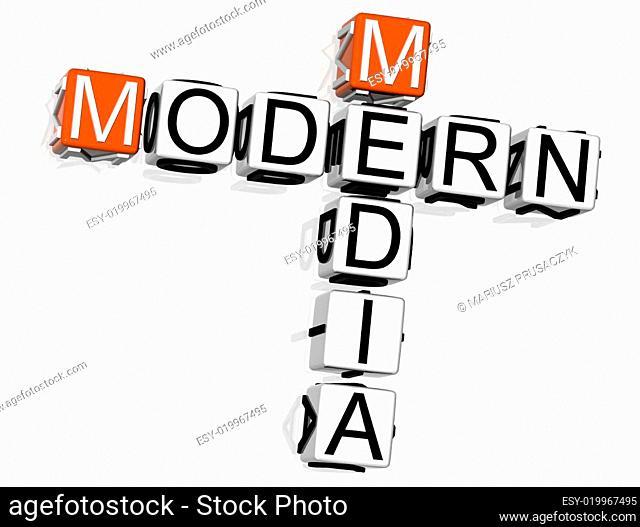 Modern Media Crossword