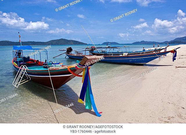 Long tail Boats, Ko Samui, Thailand