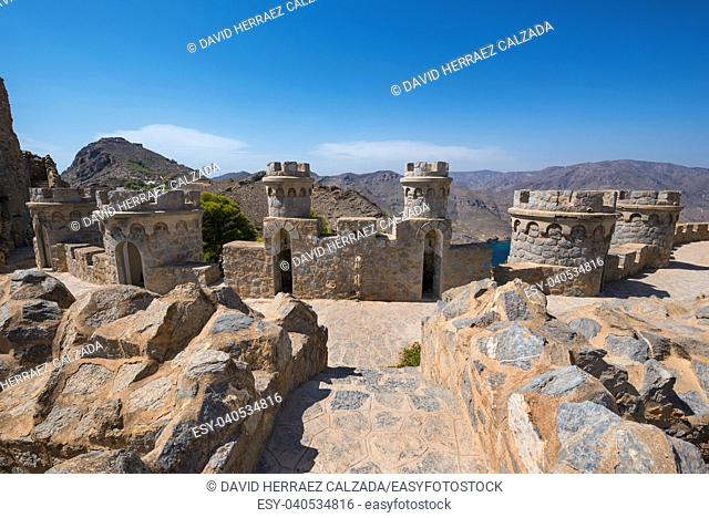 La Azohia fort in Cartagena, Murcia, Spain