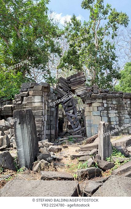 The ruins of Banteay Chhmar temple, Cambodia