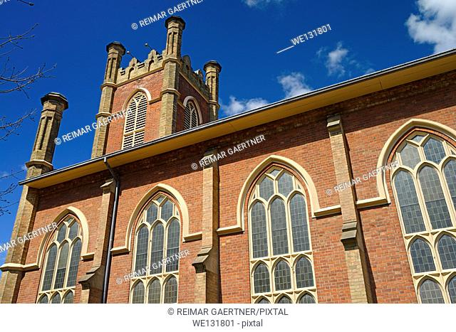 Little Trinity Anglican church is oldest church in Toronto has Tudor Gothic architecture
