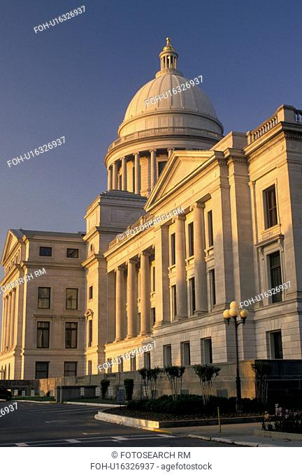 State Capitol, Little Rock, State House, AR, Arkansas, Arkansas State Capitol Building in the capital city of Little Rock