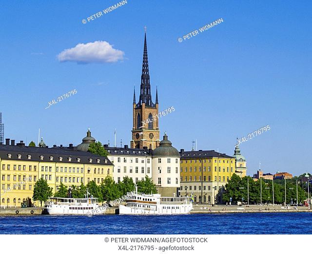 Stockholm, Riddarholmskyrkan, Riddarholmschurch, Sweden, Riddarholmen