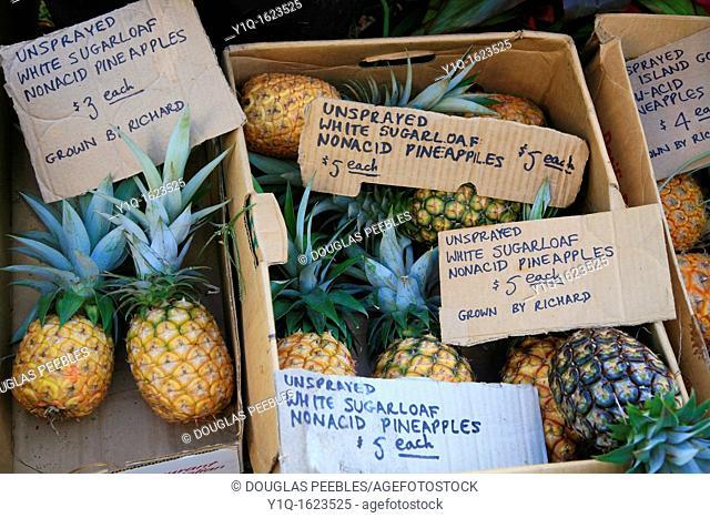 Hilo Farmer's Market, Hilo, Island of Hawaii, USA