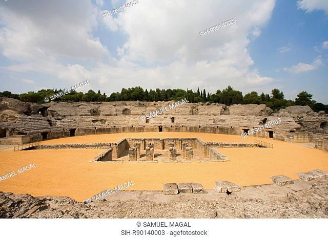 Italica was founded in 206 BC as a Roman military outpost. Emperor Trajan was born here in 53 AD, and so did his successor, Emperor Hadrian, in 76 AD