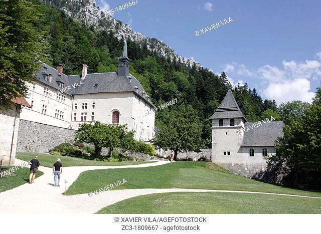 Monastery and museum of la Grande Chartreuse, Isère, Rhône-Alpes, France