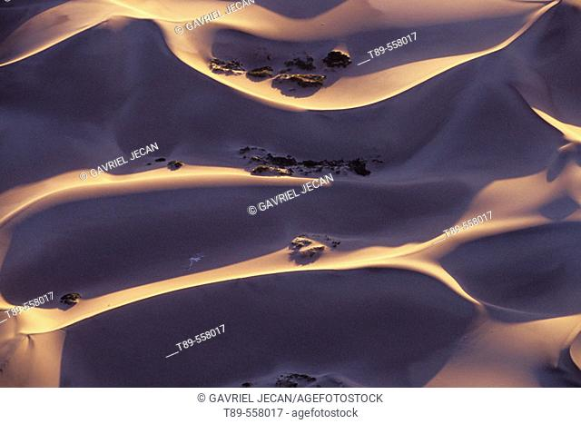 USA, California, Dead Valley National Park, sand pathern