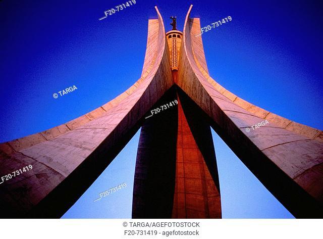 Monument des Martyres (Maquam E' chahid), Algiers, Algeria
