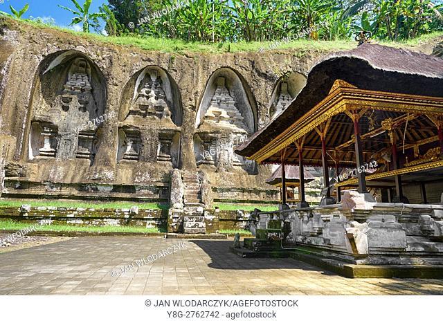 Ancient royal tombs at Gunung Kawi Temple, Bali, Indonesia