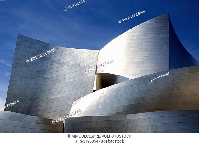 The Walt Disney Concert Hall in downtown Los Angeles is home to the Los Angeles Philharmonic Orchestra
