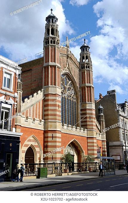 The Parish Church of Holy Trinity Sloane Square, Chelsea, London, England, UK