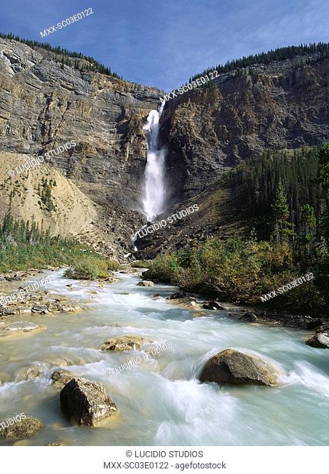 Takakkaw Falls, Yoho Natinal Park, B.C