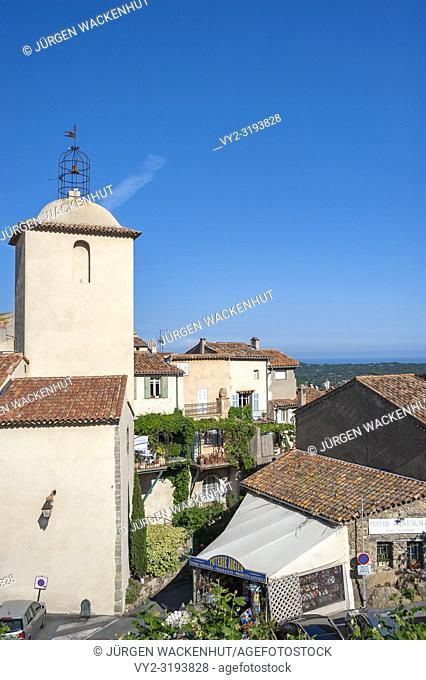 Church Notre-Dame, Ramatuelle, Var, Provence-Alpes-Cote d`Azur, France, Europe